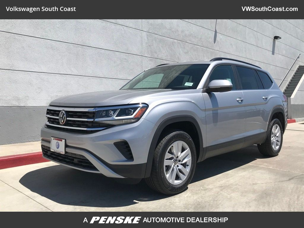 New 2021 Volkswagen Atlas S