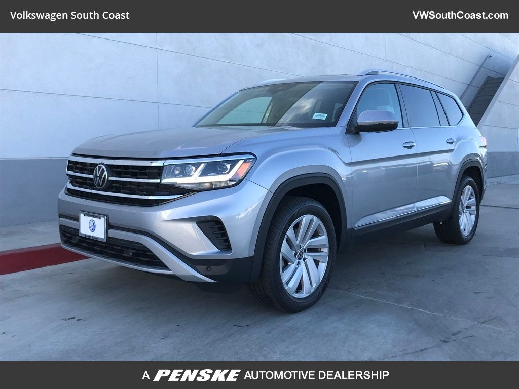 New 2021 Volkswagen Atlas V6 SEL